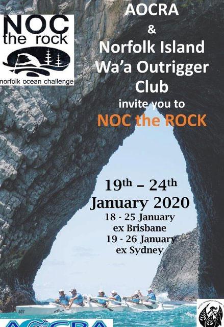 NOC the rock Norfolk Islands Challenge -